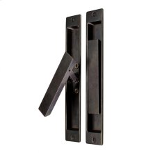 "Folding Lift and Slide - 2"" x 11"" Silicon Bronze Brushed"