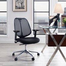 Reverb Premium Office Chair in Black