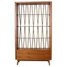 Milano Display Case, Walnut Product Image