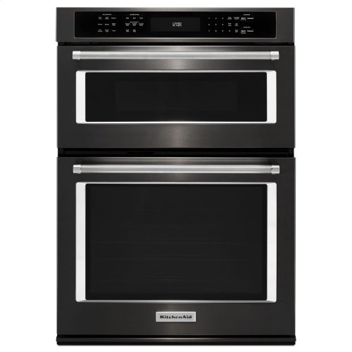 "27"" Combination Wall Oven with Even-Heat™ True Convection (lower oven) - Black Stainless"