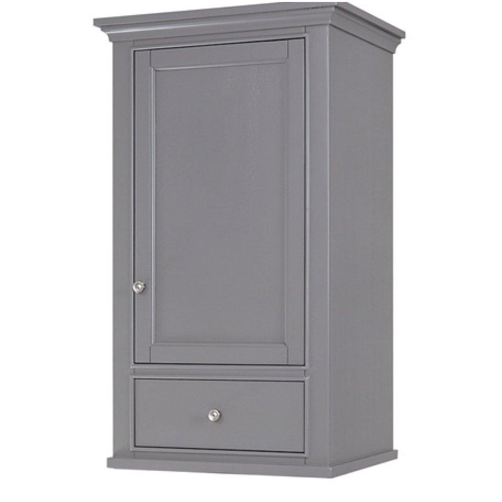 "Smithfield 21x18"" Linen Hutch - Medium Gray"