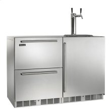 "48"" Signature Series Outdoor Refrigerator/Beer Dispenser"