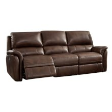 Power Reclining Sofa in Ziggy-Cocoa