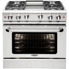 "36"" Gas Convection Range with 6 Sealed Burners 19K BTU + 12"" Griddle Product Image"