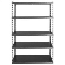 "48"" Wide EZ Connect Rack with Five 18"" Deep Shelves"