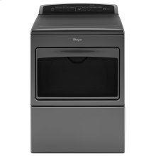 SCRATCH AND DENT 7.4 cu.ft Top Load HE Electric Dryer with AccuDry , Intuitive Touch Controls