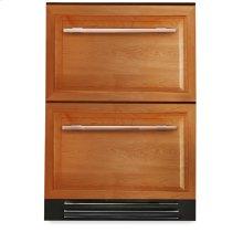 24 Inch Overlay Panel Undercounter Freezer Drawer - Overlay Panels