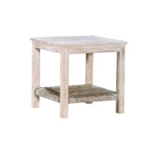 Lamp Table, Available in Washed Texture Finish Only.
