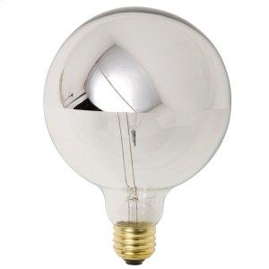 G50 25w E12 Light Bulb  Silver Product Image