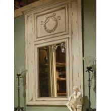 Queen Antoinette Trumeau Mirror