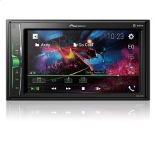 "Digital Multimedia Video Receiver with 6.2"" WVGA Display, and Built-in Bluetooth ®"