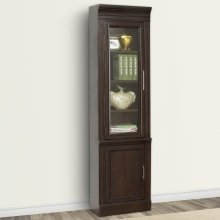 STANFORD 22 in. Glass Door Cabinet