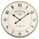 French Cafe Wall Clock Product Image