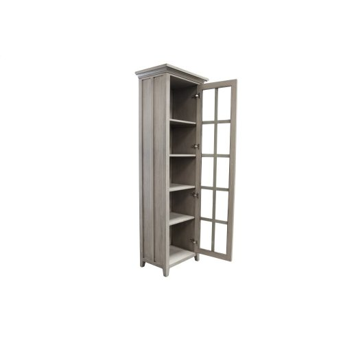 Book Shelf, Available in Distressed White or Distressed Grey Finish.