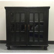 Two Door Sideboard- Weathered Black