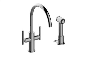 Sospiro Single-Hole Bar/Prep Faucet w/Independent Side Spray Product Image