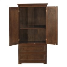 Two Drawer Armoire