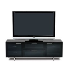 Avion Noir Contemporary TV Cabinet
