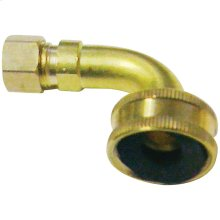 "3/4"" FIP Lead-Free Dishwasher Elbow with Nuts & Sleeve"
