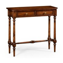 Victorian style walnut console