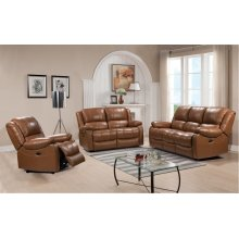 E32718 Piper Power Sofa Ileather 177136lv Peanut