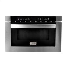 """ZLINE 24"""" 1.2 cu. ft. Microwave Drawer in Stainless Steel (MWD-1)"""