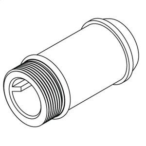 """Commercial 3-1/4"""" delany supply extension nipple Product Image"""