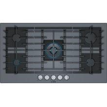 Benchmark® Gas Cooktop 36'' dark silver