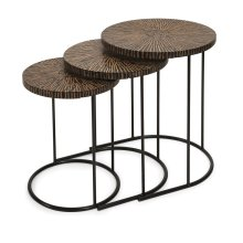 Hoki Coco Shell Tables - Set of 3