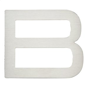 Paragon Letter B - Stainless Steel Product Image