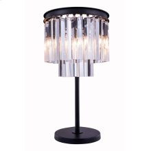 1201 Sydney Collection Table Lamp Mocha Brown Finish