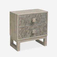 Fulton Nightstand -- 2 drawers (Grey/Fulton)
