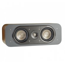 American HiFi Home Theater Center Speaker in Classic Brown Walnut