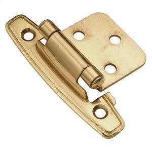 Flush Hinge - Polished Brass Product Image