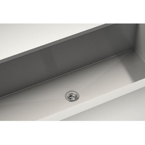 Drain 100086 - Stainless steel sink accessory , Polished Chrome, 2""