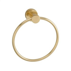 Plumer Towel Ring - Antique Brass Product Image