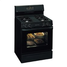 """GE Spectra 30"""" Free-Standing Gas Range (This is a Stock Photo, actual unit (s) appearance may contain cosmetic blemishes. Please call store if you would like actual pictures). This unit carries our 6 month warranty, MANUFACTURER WARRANTY and REBATE NOT VALID with this item. ISI 34511"""