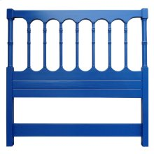 Island Spindle Queen Headboard - Nvy