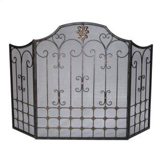 Bronze Fire Screen