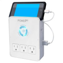 Power360 6 Outlet Wall Tap/Charging Station