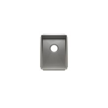 """J7® 003907 - undermount stainless steel Kitchen sink , 12"""" × 16"""" × 8"""""""