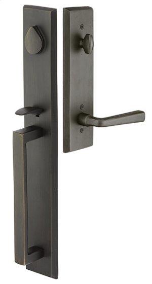 Bronze Rustic Modern Rectangular Full Length Product Image