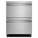 "NOIR 24"" Double-Refrigerator Drawers Product Image"
