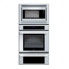 "30"" MASTERPIECE SERIES STAINLESS STEEL COMBINATION OVEN WITH MICROWAVE, TRUE CONVECTION OVEN AND WARMING DRAWER"