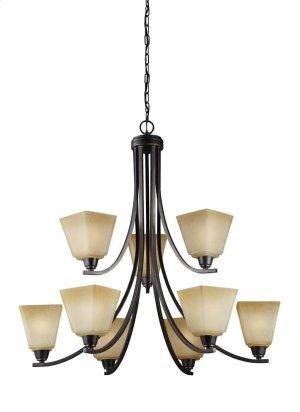 Nine Light Chandelier Product Image