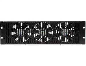 Black 3U High Volume Fan SANUS EcoSystem accessory Product Image
