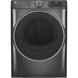 GE® 7.8 cu. ft. Capacity Smart Front Load Electric Dryer Product Image
