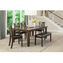 5 PC Dining - Dining Table and 4 Chairs