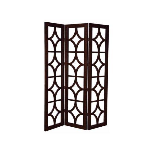 Chocolate- Three Panel Screen