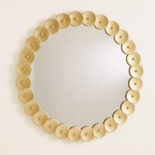 Shoe Buckle Mirror-Gold
